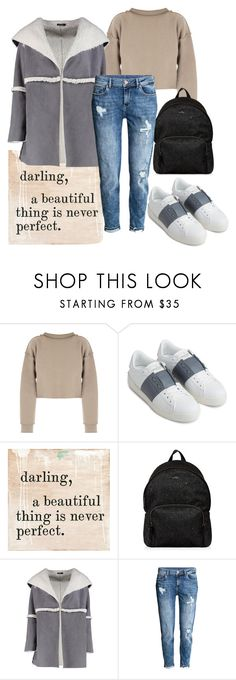 """""""Untitled #350"""" by ema-jones ❤ liked on Polyvore featuring My Mum Made It, Valentino, Sugarboo Designs, Hogan, Boohoo and H&M"""