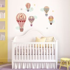 Pastel Balloons Wall Decal Cut-Outs
