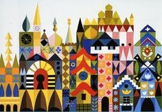 Mary Blair - Small World facade