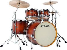 Tama Silverstar 5Piece Shell Pack Antique Brown Burst * Want to know more, click on the image.Note:It is affiliate link to Amazon.