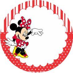 Bolo Da Minnie Mouse, Minnie Mouse Stickers, Preschool Name Tags, Scrapbook Da Disney, Mini Mousse, Minnie Mouse Silhouette, Minnie Mouse Party Decorations, Disney Alphabet, Do It Yourself Inspiration