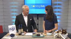 Christine Tizzard calls herself the chef. She loves bluberries and this morning to talked about how to prepare a new blueberry recipe packed with taste and goodness. Blueberry Recipes, Today Show, Call Her, Wine Recipes, Love Her, Cooking, Blueberry Cobbler Recipes, Kitchen, Brewing