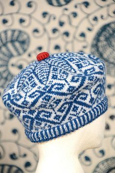Ravelry: Richard The Roundhead Tam pattern by Kate Davies