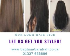 Nikki did a cut and colour,then completed the look with a blow-dry. Cheryl's hair  is ready for her summer trip to Ireland. #hairgoals  Charlotte did a Keratin Smooth treatment on Karen 2 weeks after her hair colour and  haircut . Karen is off to Ibiza!  Do you have long hair?  Do you want lush hair ? We can get you the look you are after. Give us a call on: 01227 636686  to book your free consultation today!  #haircut #haircolour #haircare #hairstyles #blowdry #hair #keratinsmooth…