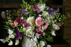english country flowers by post, grown, cut and tied by www.commonfarmflowers.com
