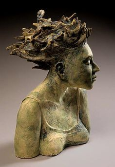 Anne Gregerson – ceramic female bust