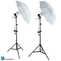 limostudio 400 watts photo portrait studio continuous umbrella