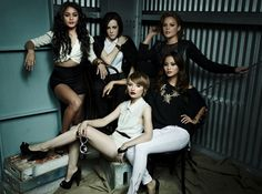 Vanessa Hudgens, Emily Browning, Jamie Chung, Jena Malone & Abbie Cornish are photographed by Dewey Nicks