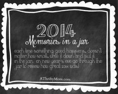 2014 printable memory jar label [count your blessings]