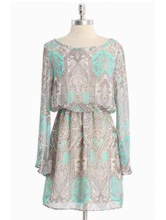 Chasing Daydreams Paisley Dress