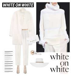 """How to Wear Winter-White"" by paculi ❤ liked on Polyvore featuring Melissa Odabash, MANGO, Alberta Ferretti, Whistles, STELLA McCARTNEY, Forever 21, Frends, Arche, Faliero Sarti and Winter"