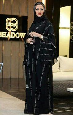 hijab stylish discovered by ♕Asel♕ on We Heart It Arab Girls Hijab, Girl Hijab, Hijab Outfit, Hijab Wear, Hijab Dress, Muslim Women Fashion, Islamic Fashion, Niqab Fashion, Modest Fashion