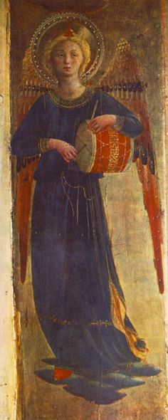 Angel, detail Fra Angelico 15th C.