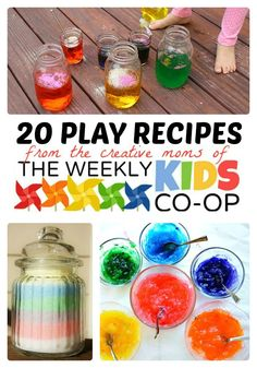 #Kids #Play Recipes and More Activities at The Weekly Kids Co-Op
