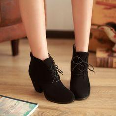 2014 new arrival elegante elegante antiderrapante soles 3 colors Vintage lace clássico mulheres botas Ankle boots size34 39 em Botas - Masculino de Sapatos no AliExpress.com | Alibaba Group