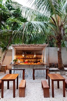 And of course my dream beach house would have an outdoor bar.