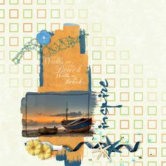 Zesty Design - Summer Splash Bundle  Heartstrings Scrap Art - Arty Inspiration 1 template
