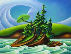 """Leaving Mayne Island"" by Dana Irving Dot Painting, Painting Styles, Fashion Painting, Naive Art, Art For Art Sake, Canadian Artists, People Art, Wildlife Art, Felt Art"
