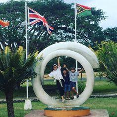 Leaving Santo and going to Tanna #Tanna #Santo #Vanuatu #kikospelomundo #kids