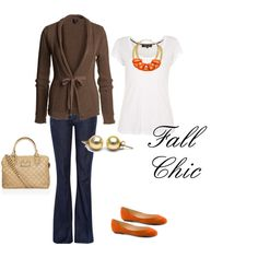 I'd love to wear this while out and about on the town on a crisp Autumn day.