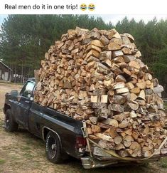 Best Home Woodworking Plans. At Best Home Woodworking Plans. We sell the right e-books and woodworking guides which give you all the info you. Old Trucks, Chevy Trucks, Chevy K10, Image Facebook, Funny Facebook, Morning Humor, Funny Photos, Firewood, Transportation