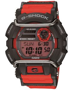 922d9d78da2 G-Shock Men s Digital Red Resin Strap Watch 55x50mm GD400-4 Jewelry    Watches - Watches - Macy s