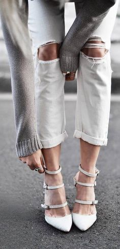 fashion trends white rips