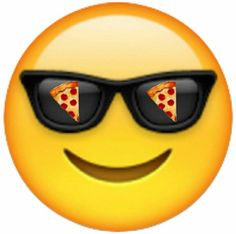 If your cool and happy eat pizza!