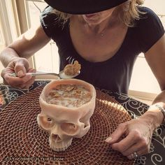 Catacomb Culture: Bone Decor & Art by CatacombCulture Skull Decor, Skull Art, Bar Deco, Goth Home Decor, Catacombs, Human Skull, Gothic House, Skull And Bones, Skulls