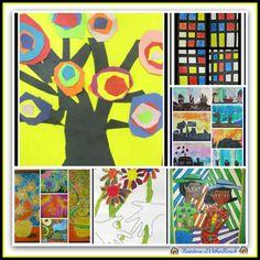 Art History 101 in Elementary via RainbowsWithinReach
