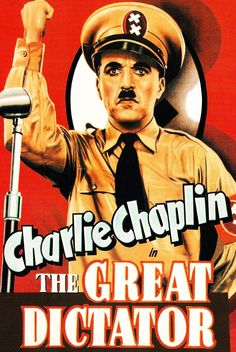 FDR urged Charlie Chaplin to make this film (1940):