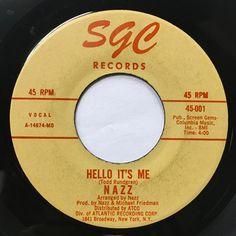 Nazz - Open My Eyes / Hello It's Me