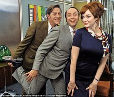 Christina Hendricks , Vincent Kartheiser and Kevin Rahm