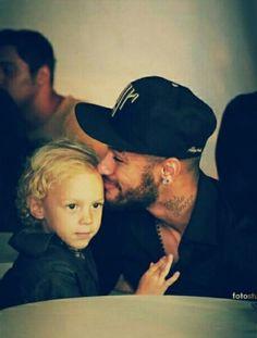 Neymar and baby davi lucca