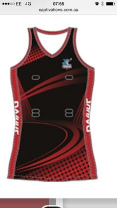 Netball Dress Design