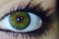 My hazel eyes