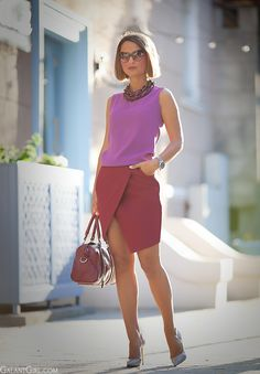 Office lady outfit and ofiice dress-code by Galant Girl