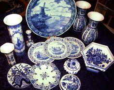 original delft deckelvase delfter porzellan weiss blau blumenvase vase holland ebay vasen. Black Bedroom Furniture Sets. Home Design Ideas
