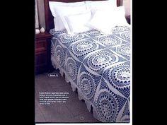 Crochet| Bedspread, doily, pillow Free Pattterns Magazine 13