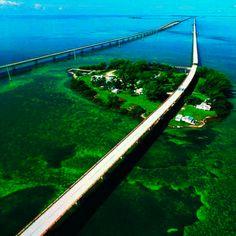 The Overseas Highway, Florida, USA