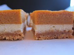 I Like To See My Recipes When I Grocery Shop: Cream Cheese Pumpkin Bars