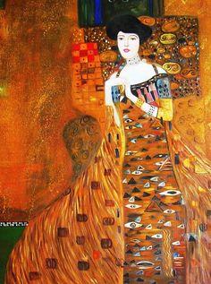 Ritratto di Adele Bloch Bauer di Gustav Klimt 1907