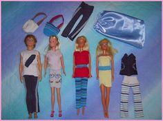 vestiti Barbie con vecchi calzini
