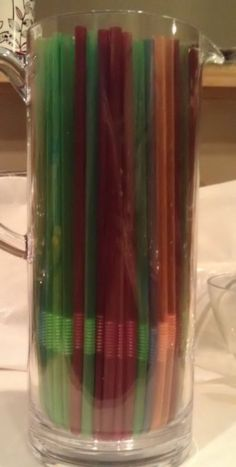Bendy Straws for Jello Worms