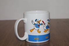 Donald Duck Timeline Mug Coffee Cup Applause