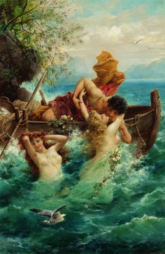 Hans Zatzka (Austrian, 1859-1945), A Fisherman's Delight, signed lower left,