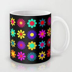 Flower Power Mug - $15.00