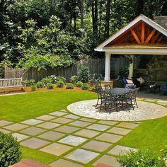 Love this patio idea