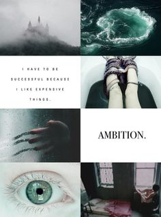 "httpwhere: Harry Potter Aesthetic // Slytherin ""Or perhaps in Slytherin,You'll make your real friends,Those cunning folk use any means,To achieve their ends."""