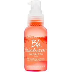 Bumble and bumble Hairdresser's Invisible Oil 0.8 oz. (80 ILS) ❤ liked on Polyvore featuring beauty products, haircare, styling products, beauty, hair, hygien, makeup, no color and bumble and bumble
